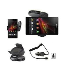 Auto Halterung Sony Xperia Z L36H KFZ Halter 360 Grad+Auto Ladekabel Ladegerät