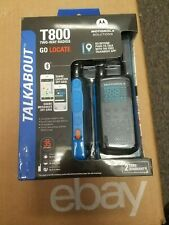 NEW!!! MOTOROLA T800 TALKABOUT 2 WAY RADIOS Up to 35 Miles  Free Shipping!!!!