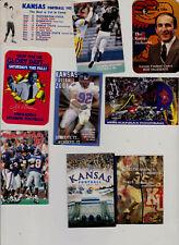 18 Kansas Jayhawks sports schedules 11 Football/4 Bkball Glen Mason Nate Dwyer .