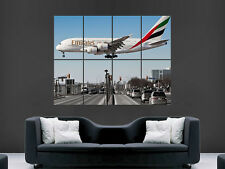 AA023 avion affiche-poster print art A0 A1 A2 A3 Airbus A380 lufthansa