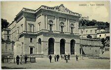 Cartolina Formato Piccolo - Cosenza - Teatro Comunale Viaggiata 1924