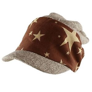 Morehats Star Band Slouchy Fit Beanie Baseball Newsboy Cap Casual Year Round Hat
