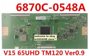 6870C-0548A T-Con Board  V15 65UHD TM120 Ver0.9   Logic board  For 65'' TV
