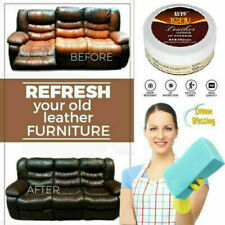 Leather Conditioner Cleaner Repair Bags Sofa Purses Wallets Belts Car Seats UK