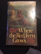 Signed!! Where the Red Fern Grows - Wilson Rawls (1961 Hardcover) Vintage Rare