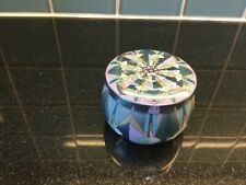Sparkly Blue Purple Scented Candle Holder Gift NEW Boxed Present
