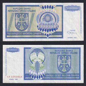 Serbia Krajina - 10.000.000 dinara 1993 SPL/XF  C-08