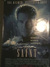 "The Saint VAL KILMER Signed Movie Poster 27x40 Inscribed ""Simon Templar"""