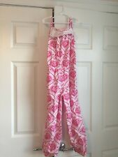 dbac8eefb023 Eleanor Rose Candy Hearts Valentine s Jumpsuit Romper size 7 8.