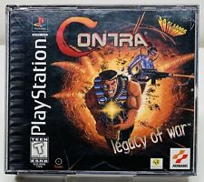 Contra: Legacy of War (Sony PlayStation 1, 1996) Ps1 Psx COMPLETE! FAST SHIPPING