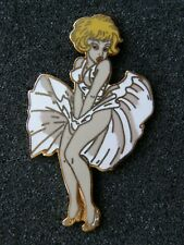 rarissime pin's NATACHA marilyn monroe - signé COLLECTION LES PLAGIAIRES,pin up