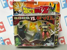 DBZ Jakks Pacific Bandai Dragon Ball Z 2 Packs Good vs Evil Piccolo Frieza Set
