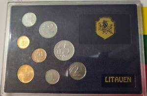Lithuania 1991 unoficial coins set