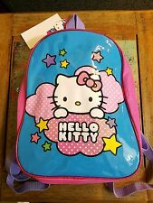 NEW NWT - Hello Kitty Pink & Blue Sparkly Backpack TODDLER SIZE Youth Kids Purse