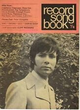 Cliff Richard on Record Song Book Magazine Cover August 1970      Peter Wyngarde