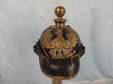 M1891 Prussian Artillery Leather Pickelhaube Helmet