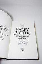 Harry Potter and the Cursed Child - JK Rowling SIGNED with Hologram NO RESERVE