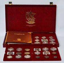 Geschichte der Seefahrt Sammlung 27 Münzen davon 26 Silbermünzen Silber Münzen