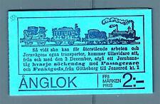 SWEDEN - SVEZIA - Libretto - 1975 - Locomotive a vapore