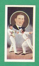J. A. PATTREIOUEX LTD. - RARE FENCING CARD  -  MAJOR  A.  D.  PEARCE  -  1930