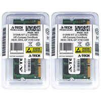 512MB KIT 2 x 256MB HP Compaq OmniBook XE3C XE3L-GF 4150 C450 Ram Memory