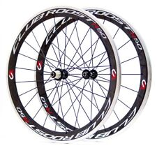 R50 Carbon Alloy Clincher Wheel Set + Skewers & Rim Tape.