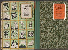 VG 1925 HC/dj Tiger Joy Poems for Young People by Stephen Vincent Benet Nice