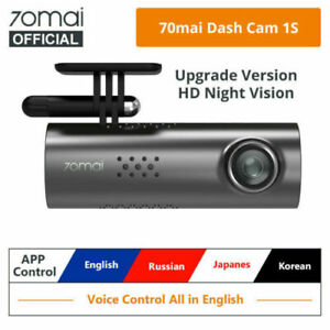 Xiaomi 70mai 1S 1080P Dash Cam Smart WiFi Car DVR Night Vision Voice Control