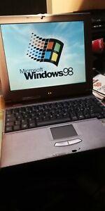 NEC Versa note Laptop Notebook Computer Portatile Vintage wns-6798-ur-tt