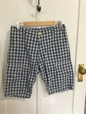 Country Road Mens Check Cotton Shorts Size 30