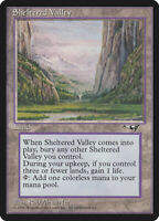 MTG Sheltered Valley LP Alliances ALL Magic English reserve list land EDH