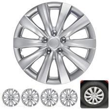 "4 PC Set 16"" Hub Caps Silver Fits Toyota Corolla 2011-2013 Replica Hubcaps"