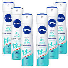 (22,06 €/L ) 6x 150 ml Nivea sèche Active Antiperspirant 48h protection rapide