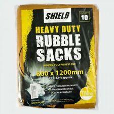 More details for 80x120cm heavy duty tough woven polypropylene builder rubble sacks bags 800x1200
