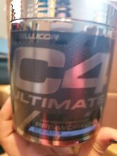 CellucorC4 Ultimate Most Explosive Pre Workout Icy Blue Razz 20 Serving