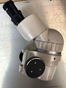 OLYMPUS stereo zoom SZ III MICROSCOPE 10x Eye Pieces 4x Zoom