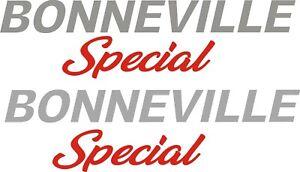 Triumph Bonneville Special vinyl stickers