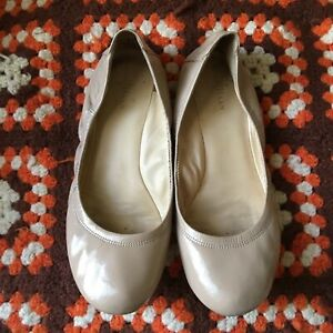 COLE HAAN Patent Leather Ballet Flats with Original Dustbag Women's Size 7.5