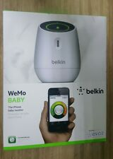 NEW Belkin WeMo Baby Monitor for Apple iPhone iPad and iPod Touch works anywhere