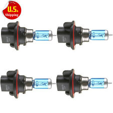 4x H13 9008 12V 100W Bright White Halogen Head Light Lamp Bulbs Auto Car Sale