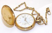 Beautiful Antique 1885 Elgin 15 Jewel Grade 66 Hunters Case Pocket Watch - Runs