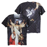 MINUTE MIRTH Jesus 3D Cupid Rock Gangster Casual Street Style #M103 Men T-Shirt