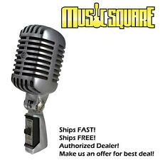 Shure 55SH Series II Vintage Style 55 Mic MAKE OFFER + FREE SAME DAY SHIPPING!