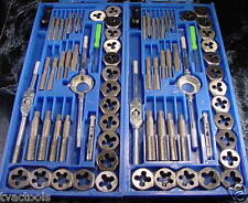 80pc TAP and DIE TOOL SET SAE and METRIC with CASE Brand New