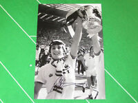 West Ham United Geoff Pike Signed 1980 FA Cup Final Trophy Photograph