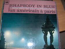 LP GERSHWIN RHAPSODY IN BLUE ORMANDY UN AMERICAIN A PARIS RODZINSKY KOSTELANETZ