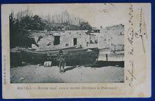 BACOLI  Rovine Antico Tempio Dintorni di Pozzuoli  animata  V 1904 f/p #20957
