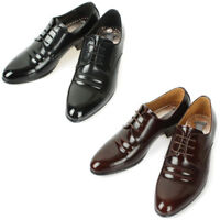 Mooda Mens Leather Oxfords Shoes Classic Formal Lace up Dress Shoes AceLine
