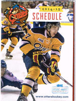 2014-15 Connor McDavid Erie Otters Rookie Schedule