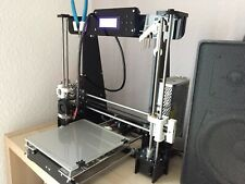 Anet A8 3D-Drucker mit Upgrades z.B. Glasbett, Lager, Autolevel Sensor, Zubehör